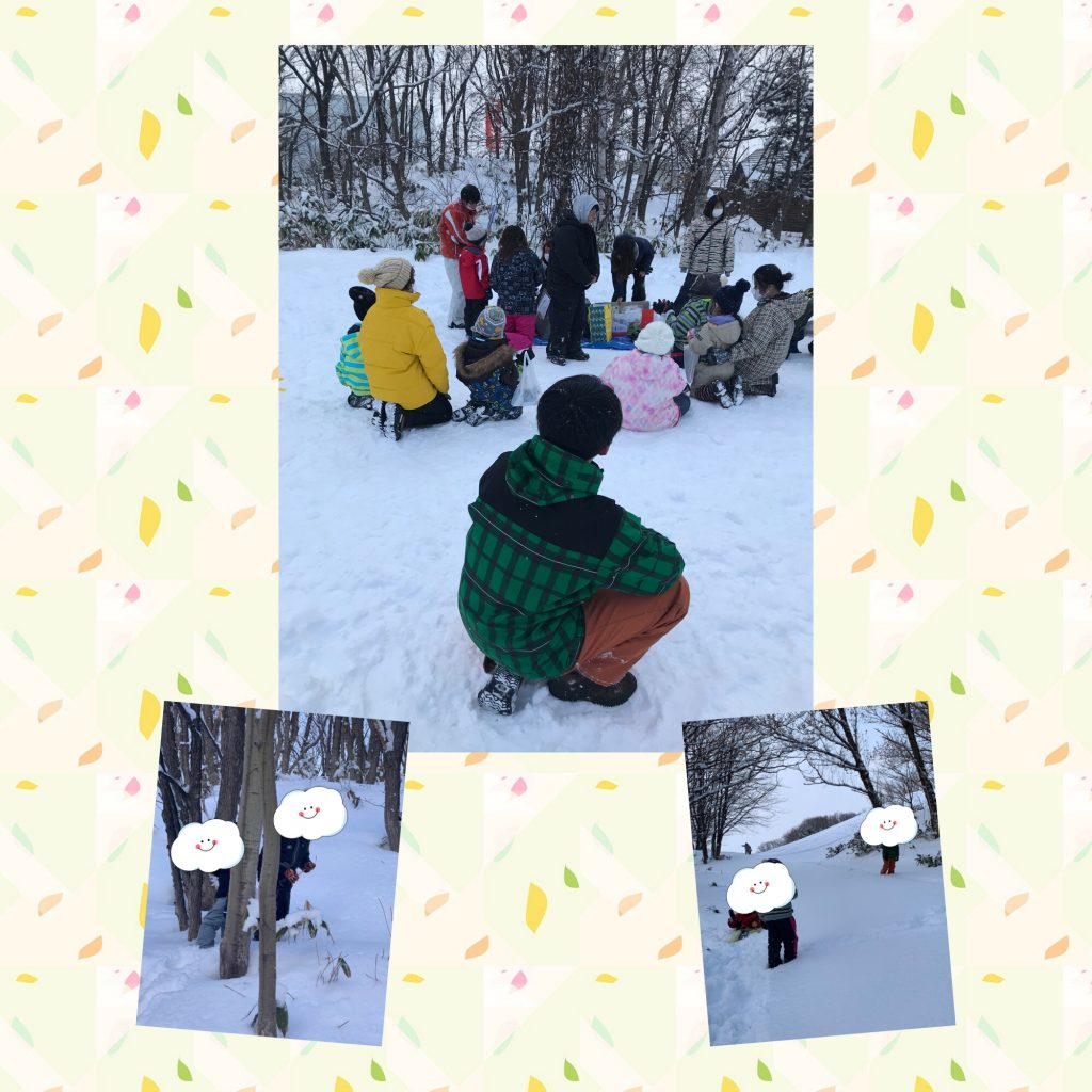 ☃ 雪 中 運 動 会 ☃